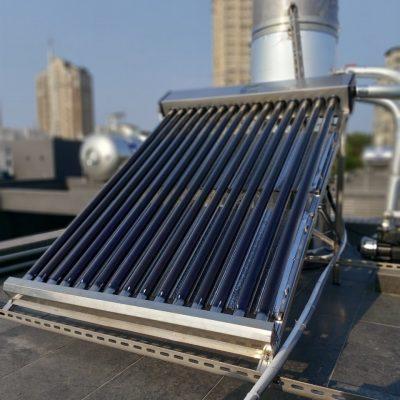 誠芳太陽能熱泵節能熱水工廠